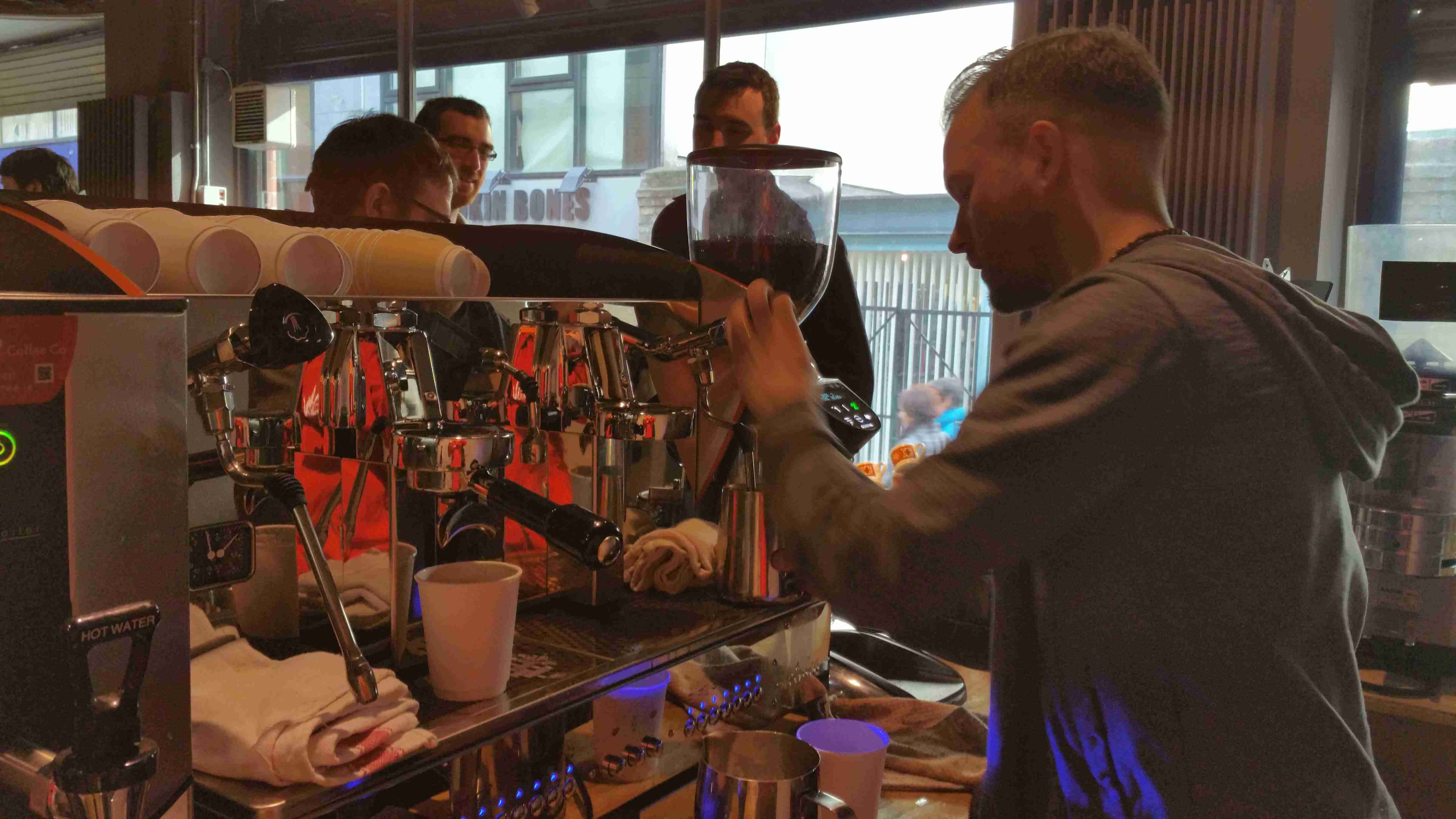 """Vero Sponsored the Launch of """"Full Circle Roasters"""""""