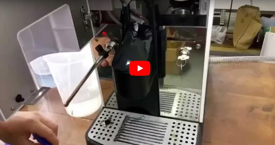 Manual Cleaning of Milk & Coffee Spouts in Carimali