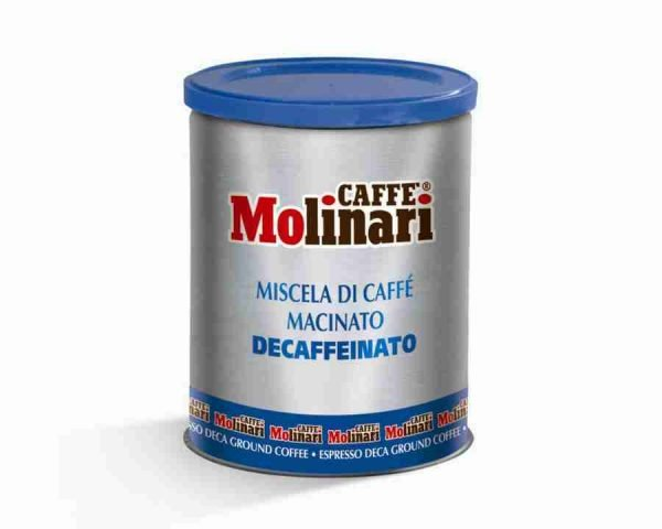 Caffe-molinari-cinque-stella-decaf-ground-coffee-blue