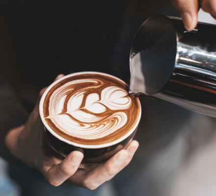 barista training image cappuccino